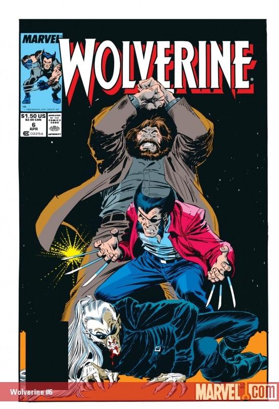 Wolverine (1988) #6