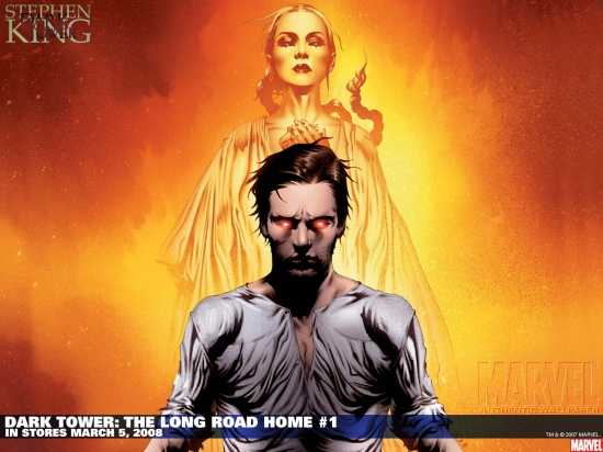 Dark Tower: The Long Road Home (2008) #1 (VARIANT) Wallpaper