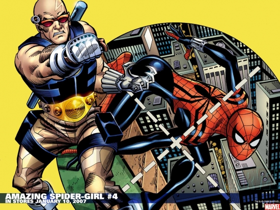 Amazing Spider-Girl (2006) #4 Wallpaper