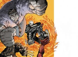 SPIDER-MAN/FANTASTIC FOUR #3 cover by Mario Alberti