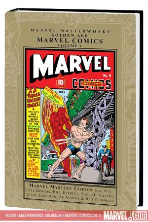 Marvel Masterworks: Golden Age Marvel Comics Vol. 3 (Hardcover)