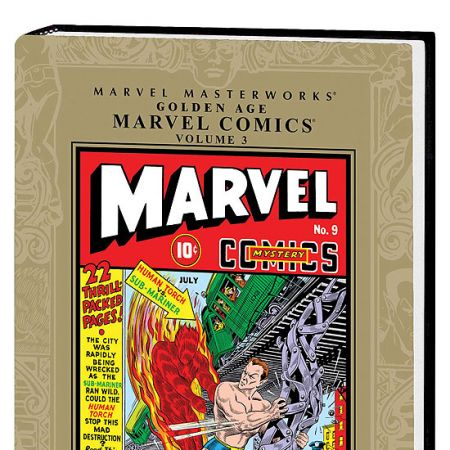 MARVEL MASTERWORKS: GOLDEN AGE MARVEL COMICS VOL. 3 HC #0