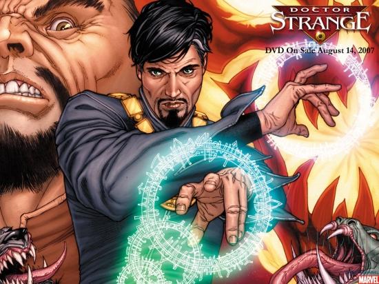 Dr. Strange: DVD Cover