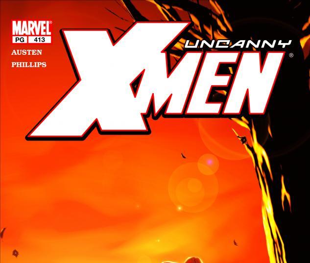 Uncanny X-Men #413 Cover