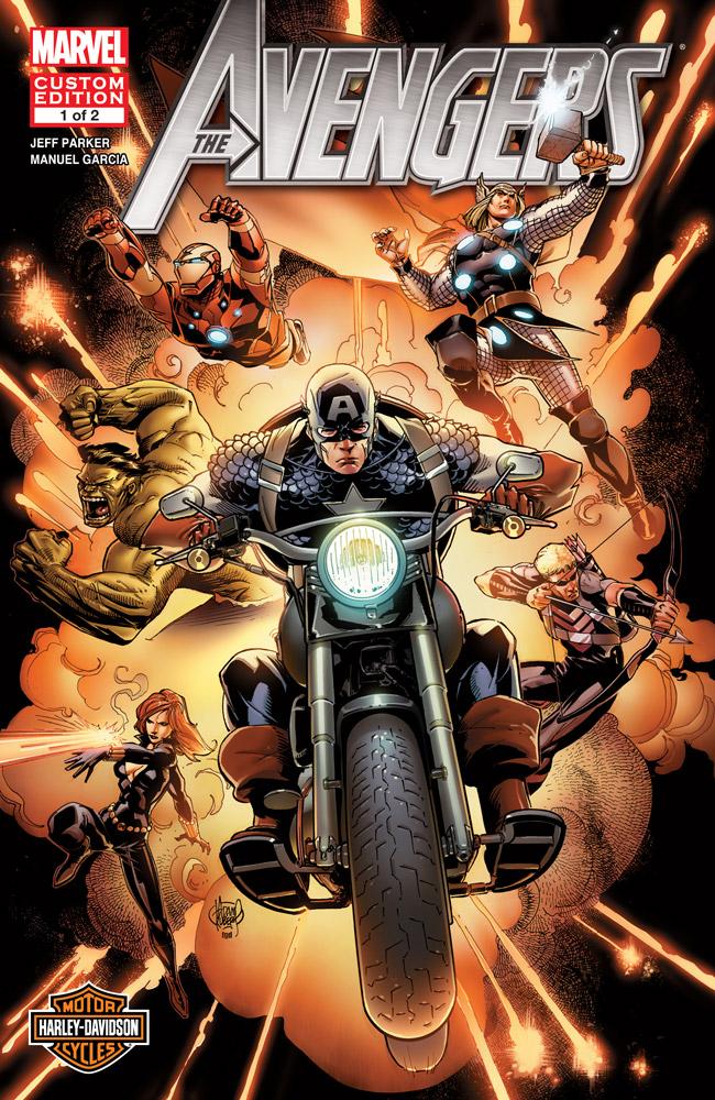 Harley-Davidson Avengers (2012) #1