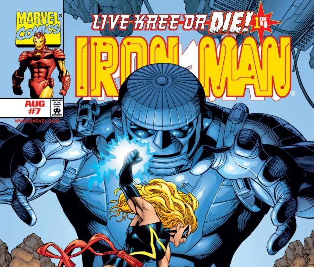 Iron Man (1998) #7 Cover