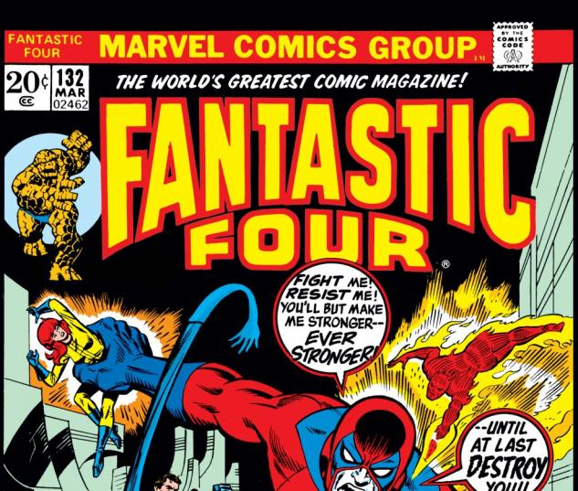Fantastic Four (1961) #132 Cover