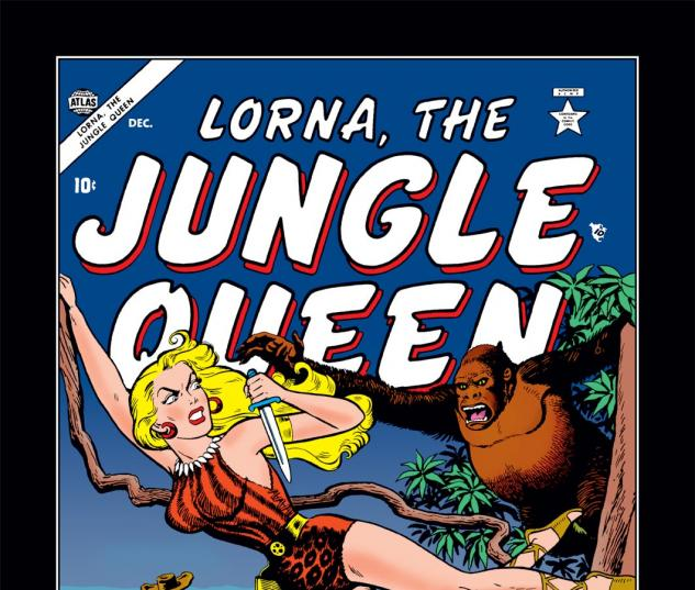 Lorna the Jungle Queen (0000) #4 Cover