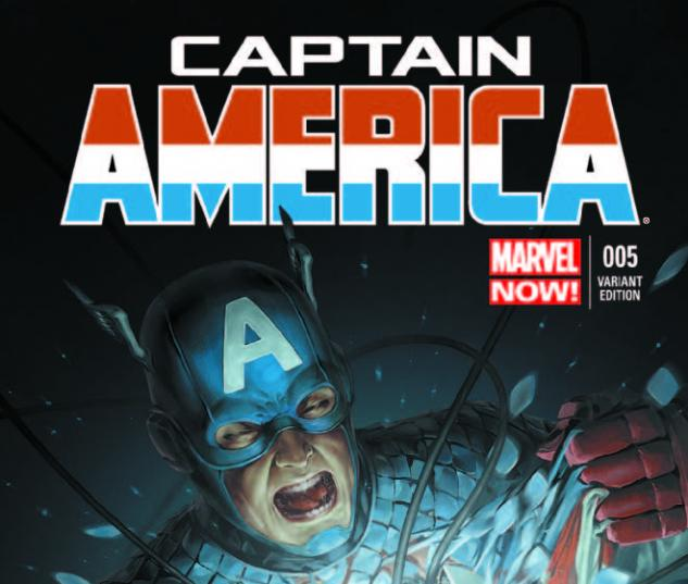 CAPTAIN AMERICA 5 YOON VARIANT (NOW, 1 FOR 50, WITH DIGITAL CODE)