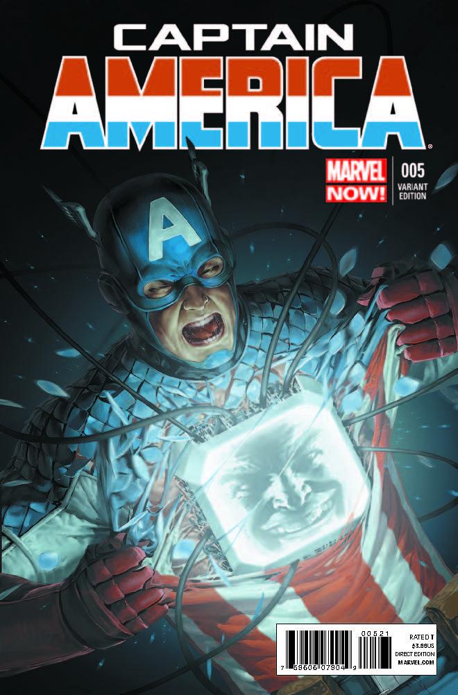 Captain America (2012) #5 (Yoon Variant)