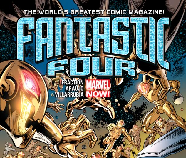 cover from Age of Ultron: Fantastic Four (2013) #1