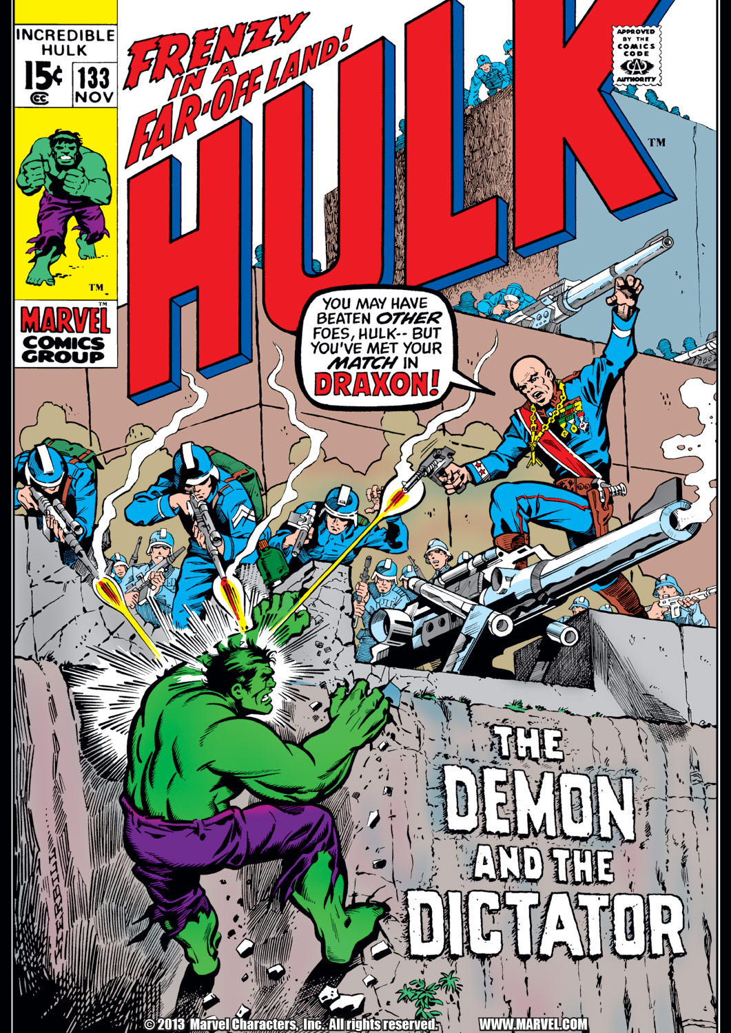 Incredible Hulk (1962) #133