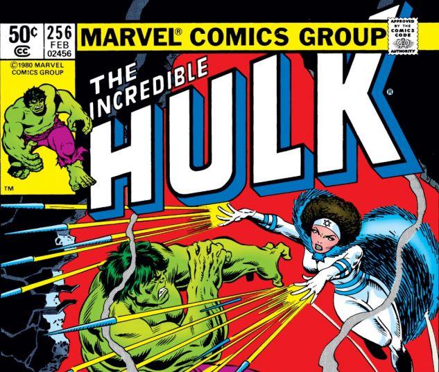 Incredible Hulk (1962) #256 Cover