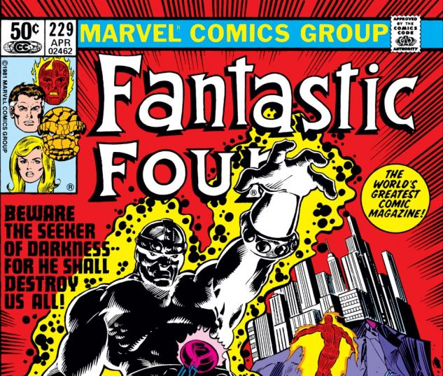 Fantastic Four (1961) #229 Cover