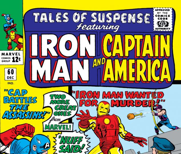 Tales of Suspense (1959) #60 Cover