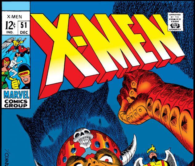 Uncanny X-Men (1963) #51 Cover