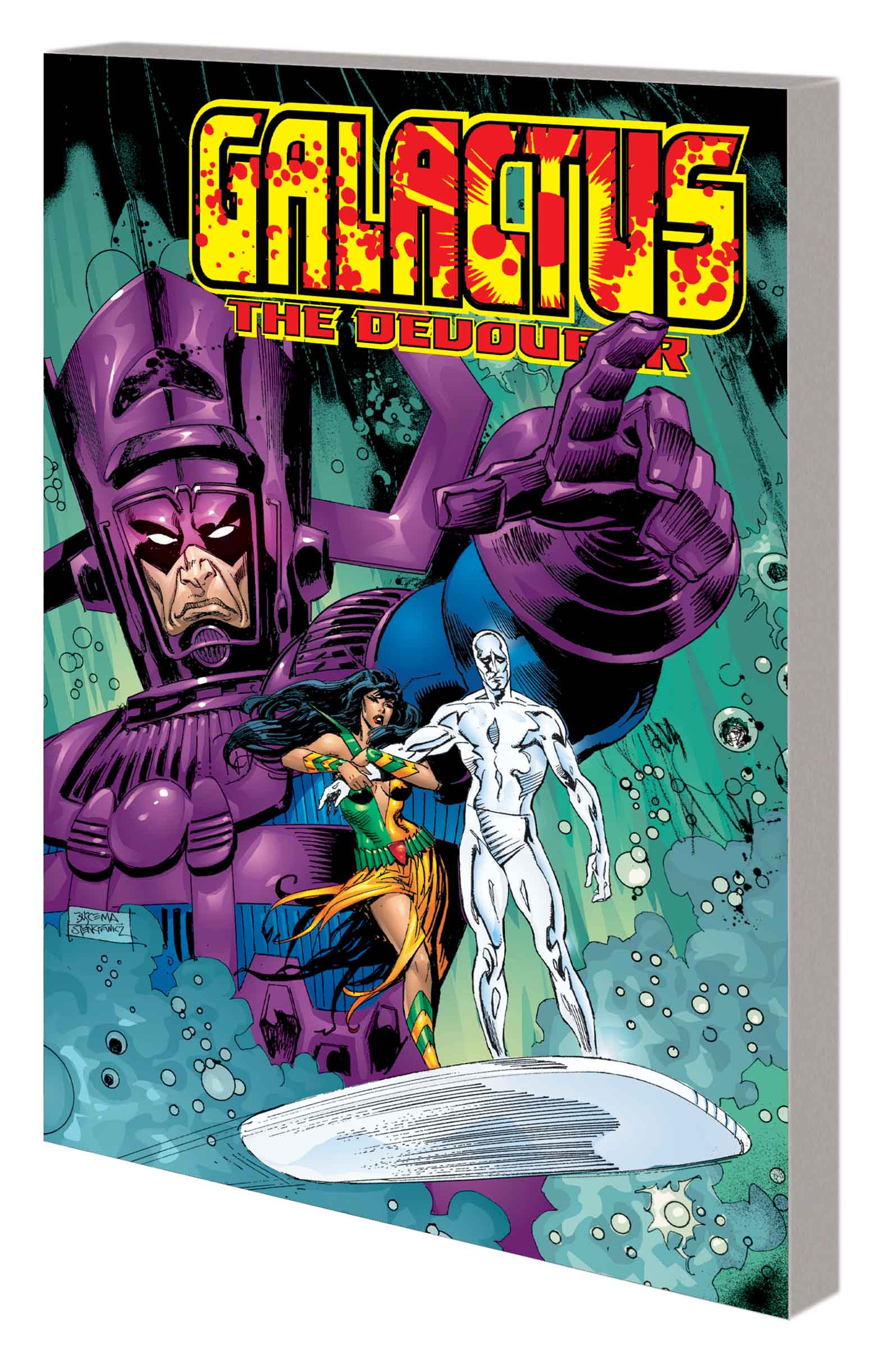 Galactus the Devourer (Trade Paperback)