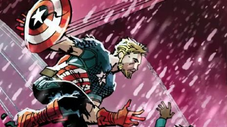 Marvel AR: Captain America #7 Cover Recap