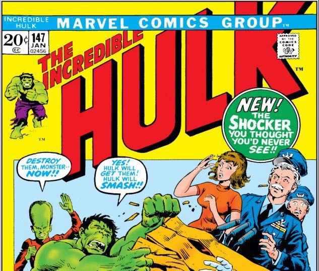 Incredible Hulk (1962) #147 Cover