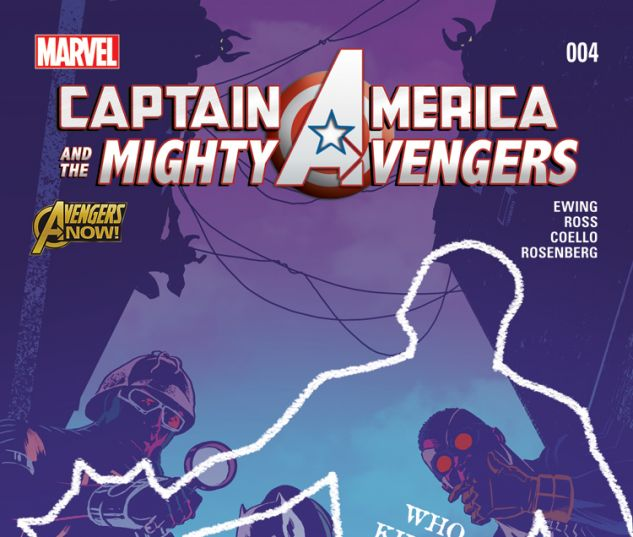 CAPTAIN AMERICA & THE MIGHTY AVENGERS 4 (WITH DIGITAL CODE)