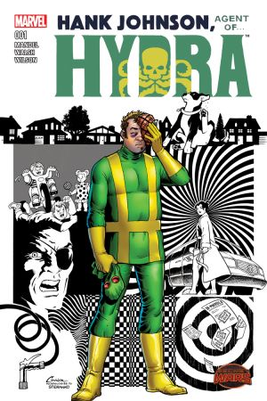 HANK JOHNSON, AGENT OF HYDRA 1 #1