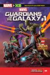 MARVEL UNIVERSE GUARDIANS OF THE GALAXY 1