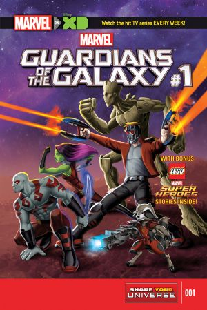 Marvel Universe Guardians of the Galaxy #1