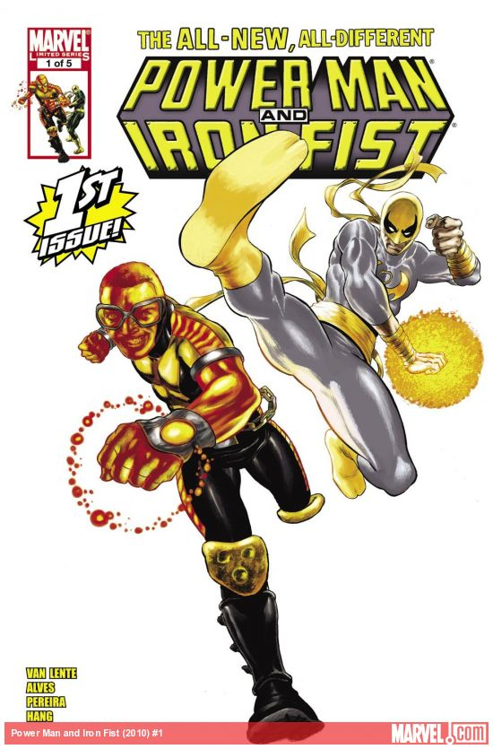 Power Man and Iron Fist (2010) #1