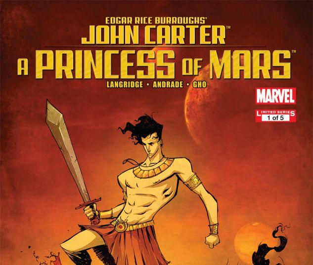 JOHN CARTER: A PRINCESS OF MARS (2011) #1 Cover