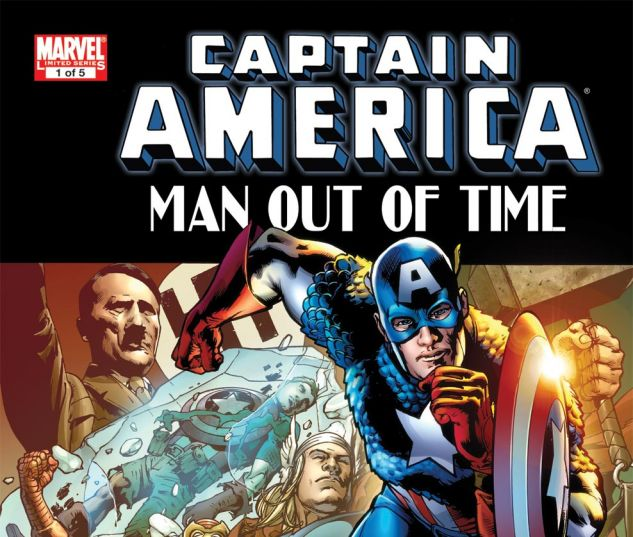CAPTAIN AMERICA: MAN OUT OF TIME (2010) #1 Cover