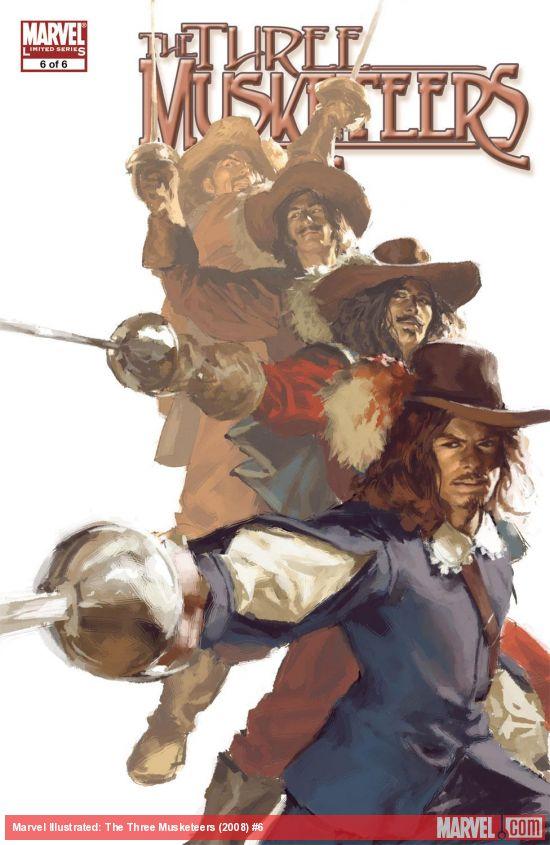 Marvel Illustrated: The Three Musketeers (2008) #6