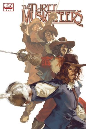 Marvel Illustrated: The Three Musketeers #6