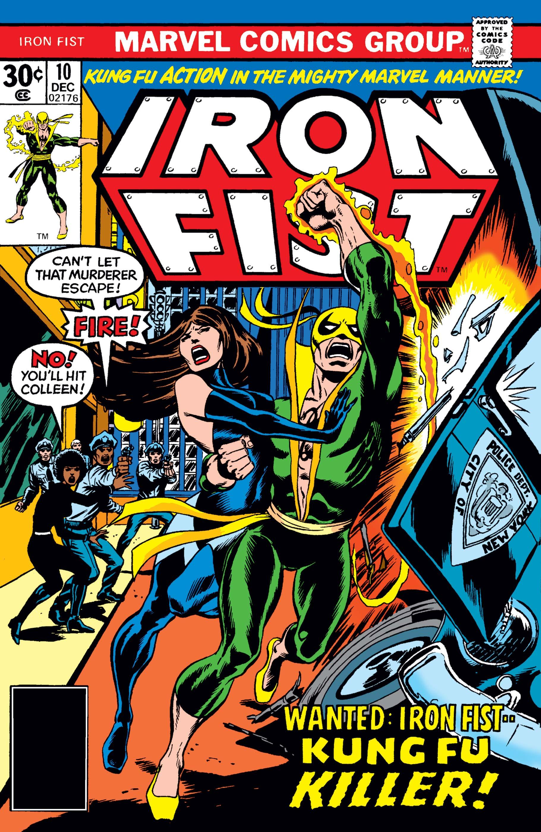 Iron Fist (1975) #10
