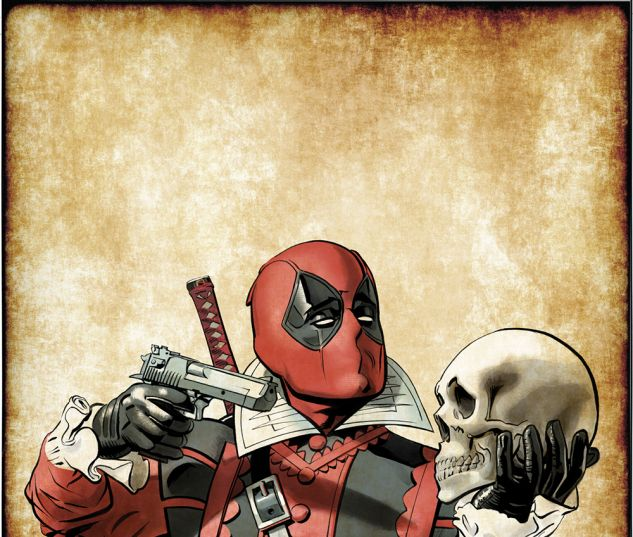 Deadpool (2015) #21 variant cover by Mike Mayhew