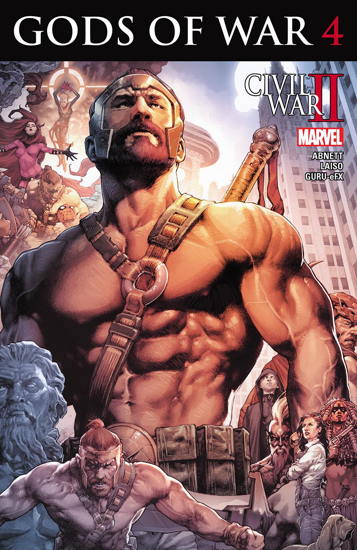 Civil War II: Gods of War (2016) #4