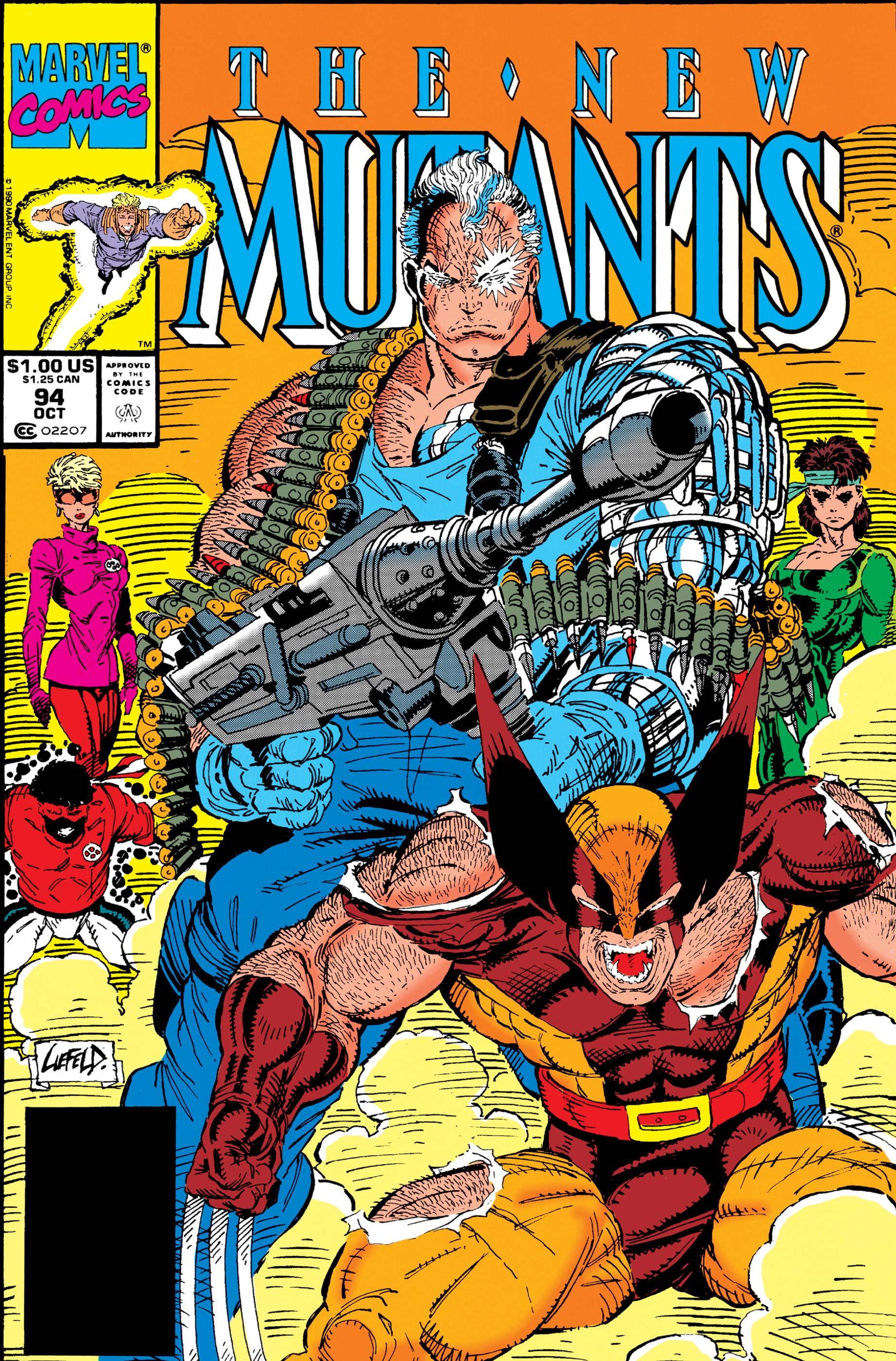 New Mutants (1983) #94
