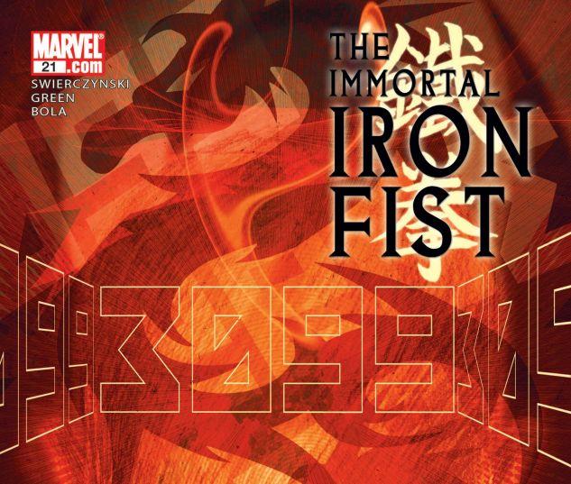THE IMMORTAL IRON FIST (2006) #21