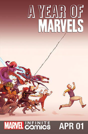 A Year of Marvels: April Infinite Comic (2016) #1