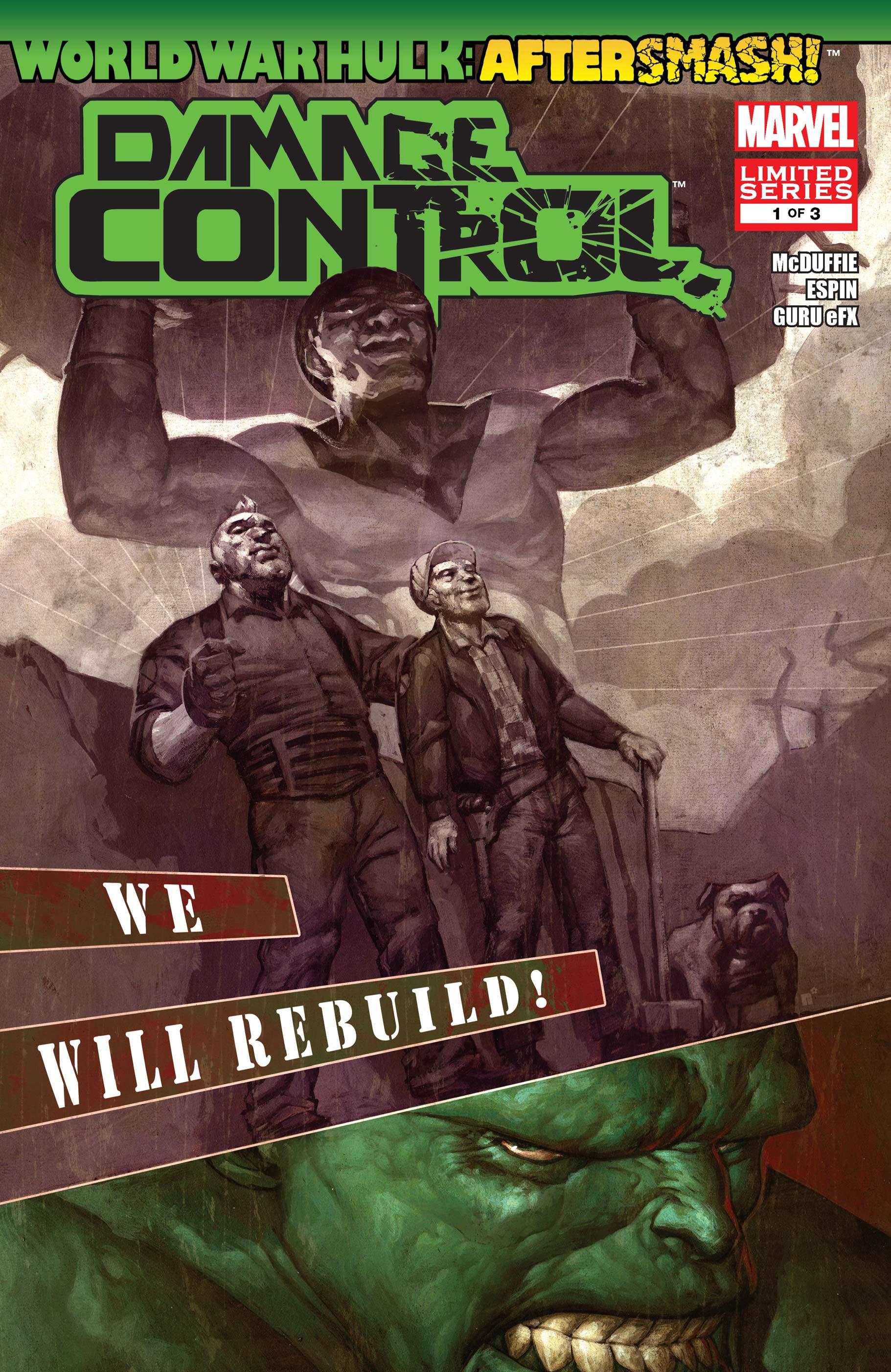 World War Hulk: Aftersmash! - Damage Control (2008) #1