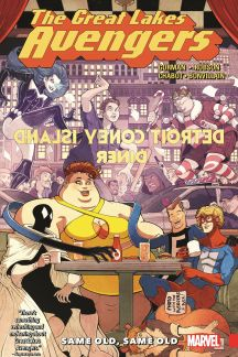 Great Lakes Avengers: Same Old, Same Old (Trade Paperback)