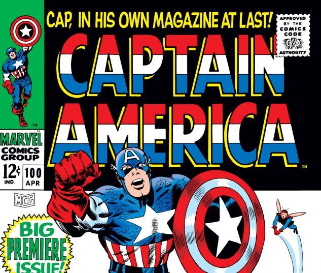 Captain America (1968) #100