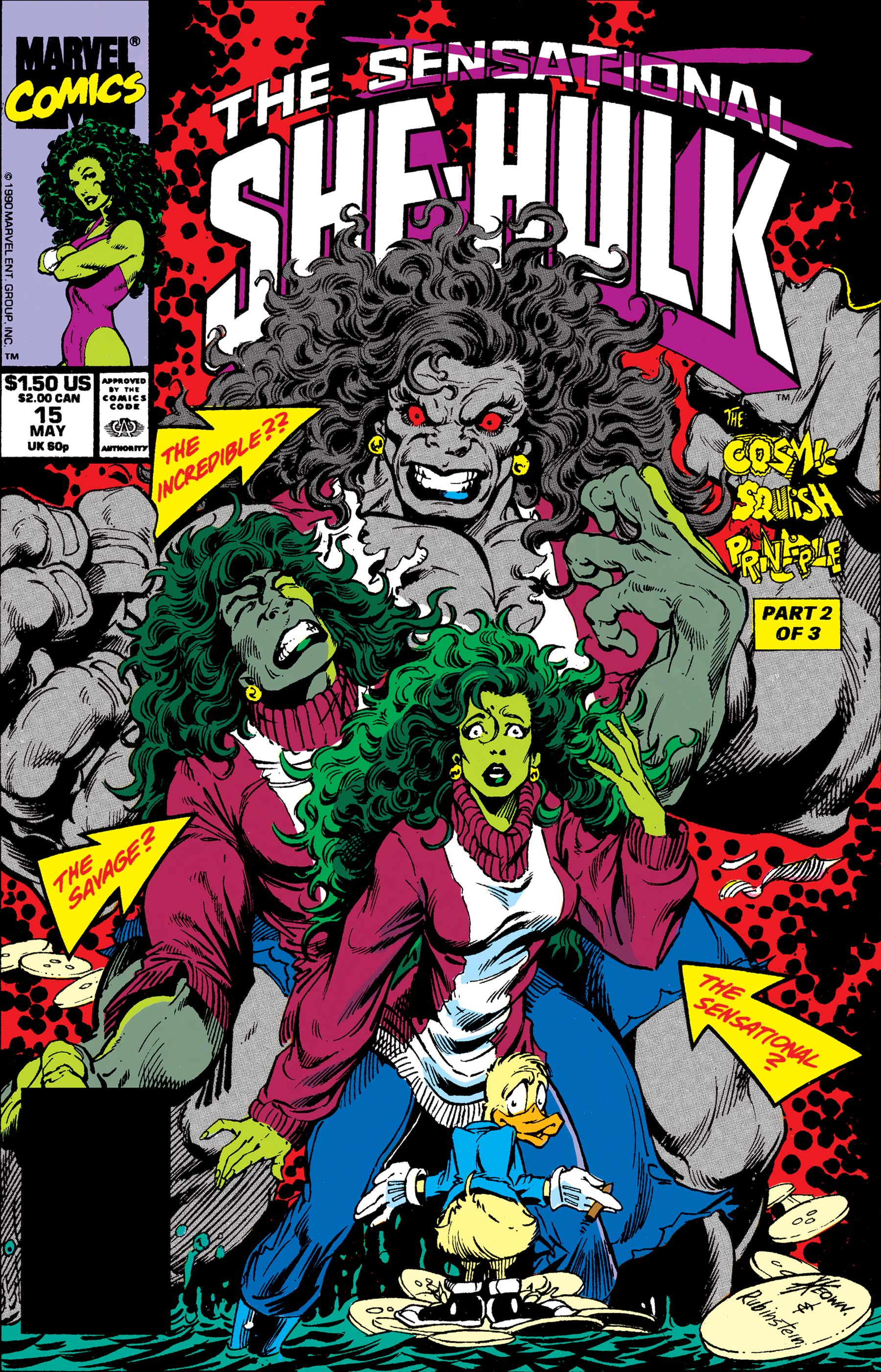 Sensational She-Hulk (1989) #15