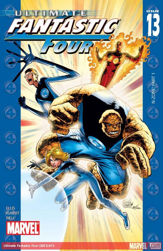 Ultimate Fantastic Four (2003) #13