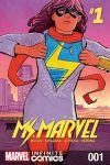 cover from Ms. Marvel Vol. 2 Kids Infinite Comic (2018) #1