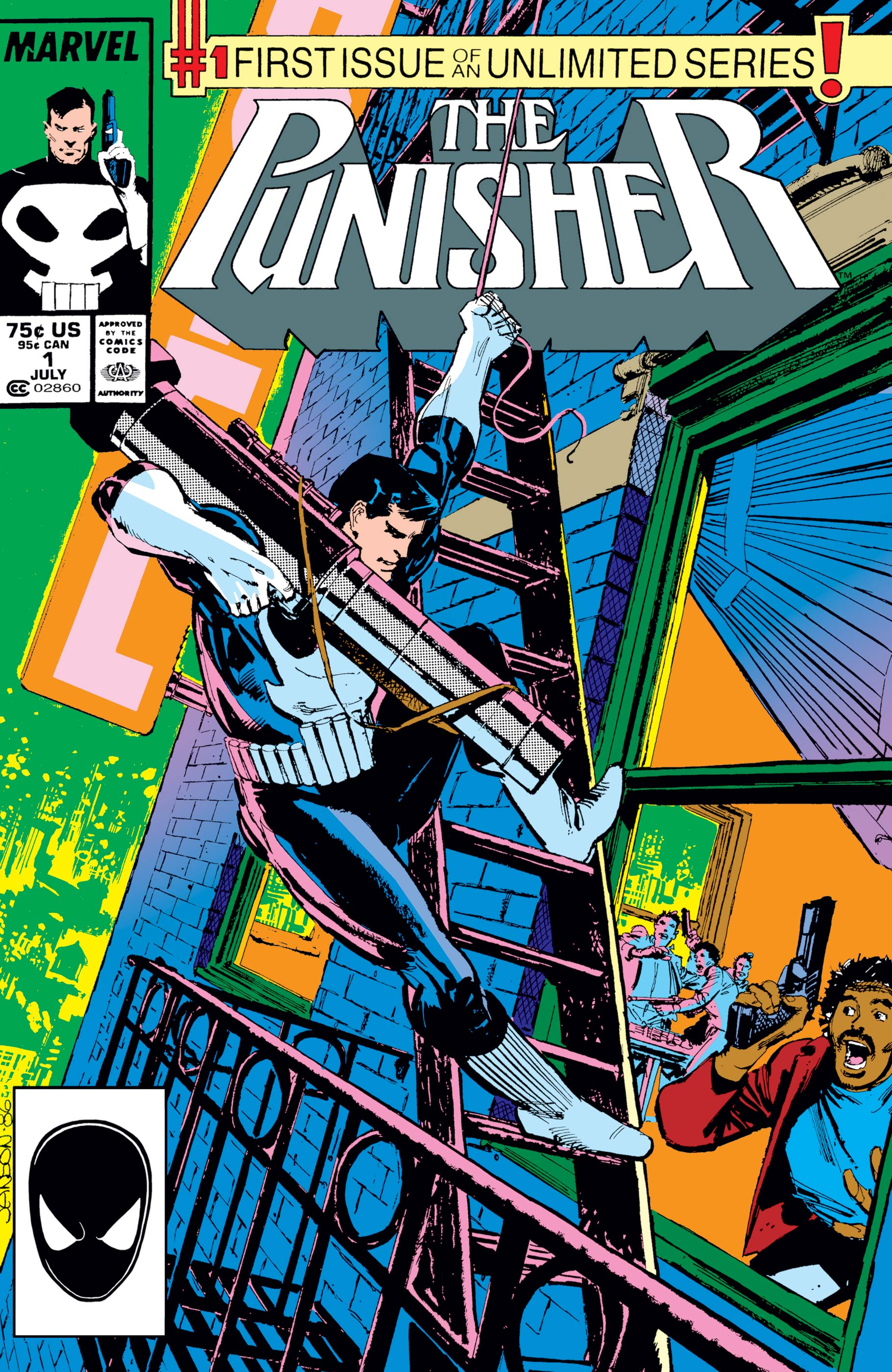 The Punisher (1987) #1