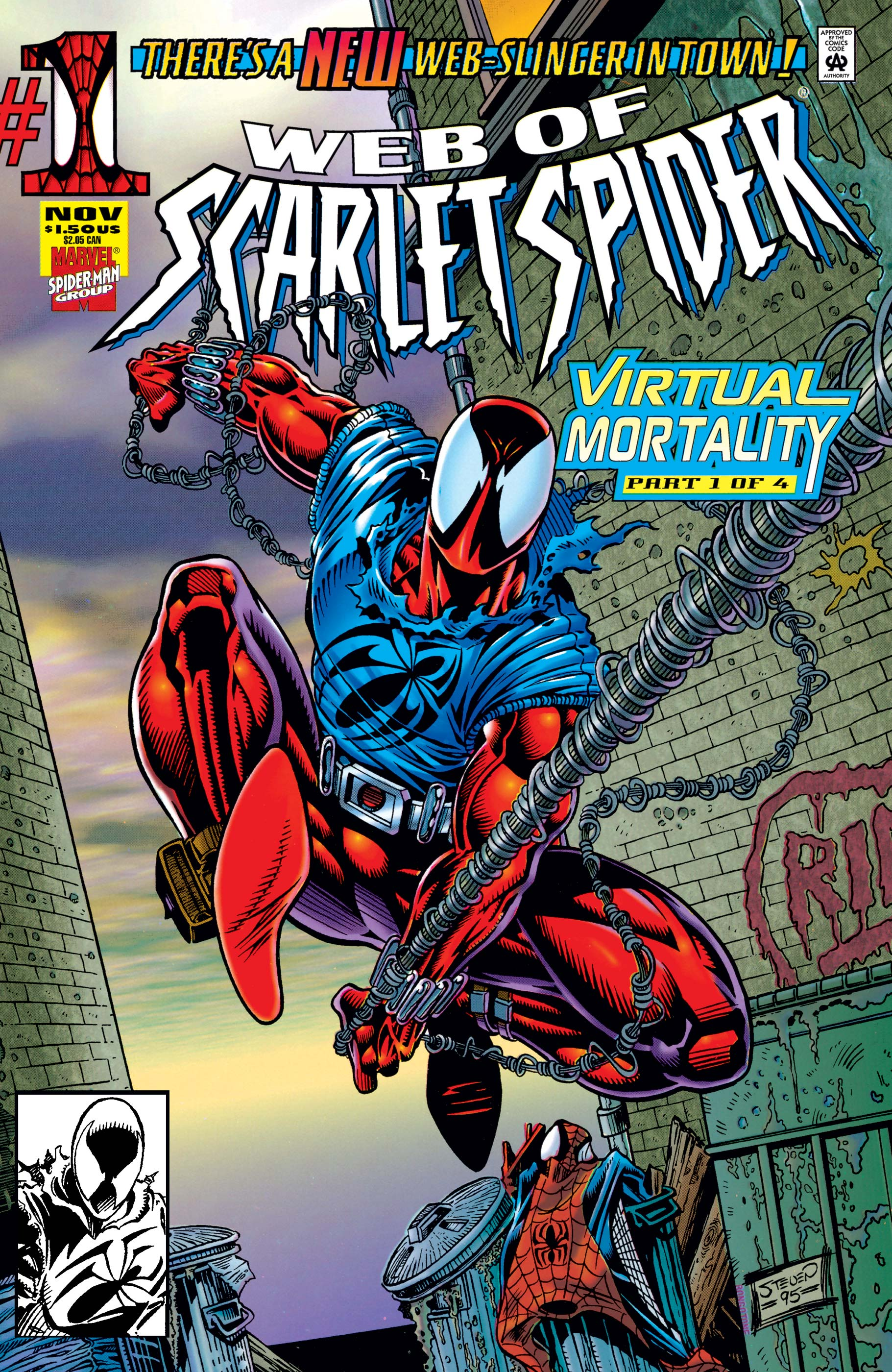 Web of Scarlet Spider (1995) #1