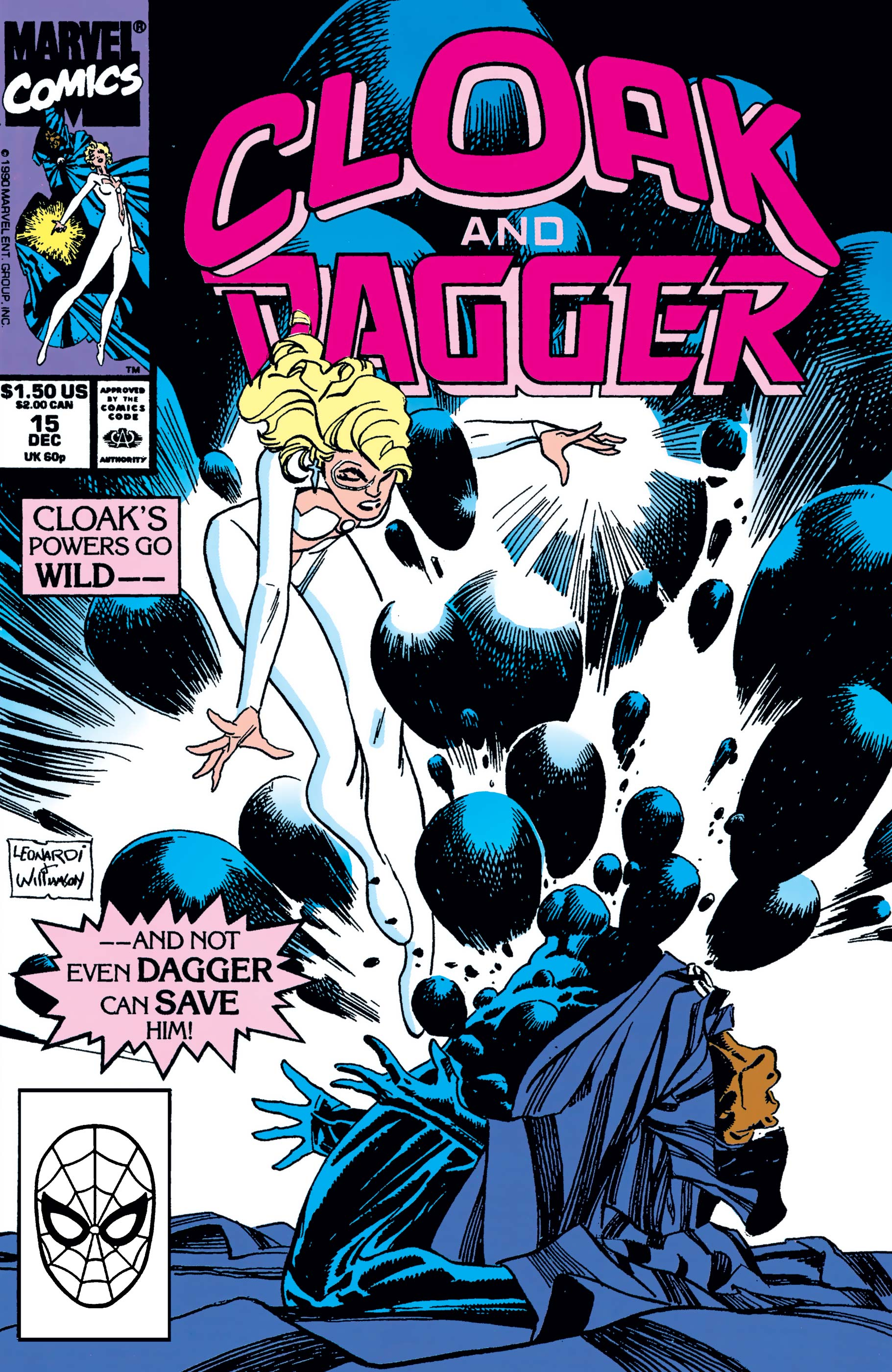 The Mutant Misadventures of Cloak and Dagger (1988) #15