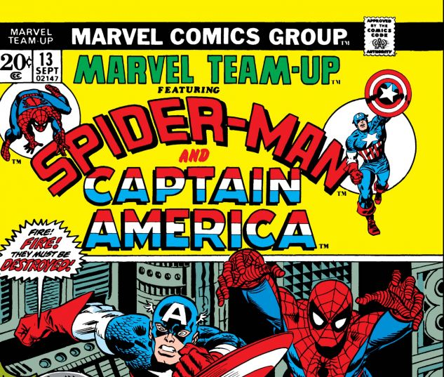 MARVEL TEAM-UP (1972) #13