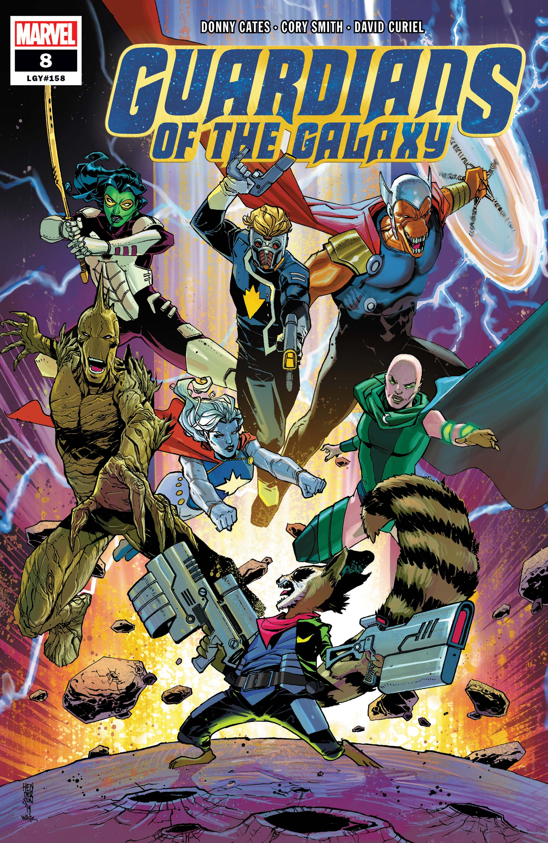 Guardians of the Galaxy (2019) #8