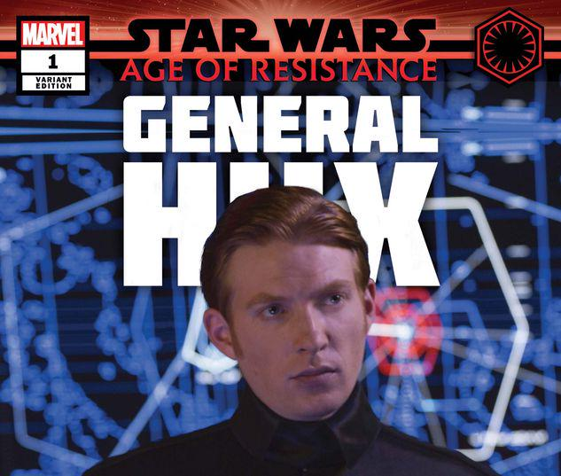 STAR WARS: AGE OF RESISTANCE - GENERAL HUX 1 MOVIE VARIANT #1